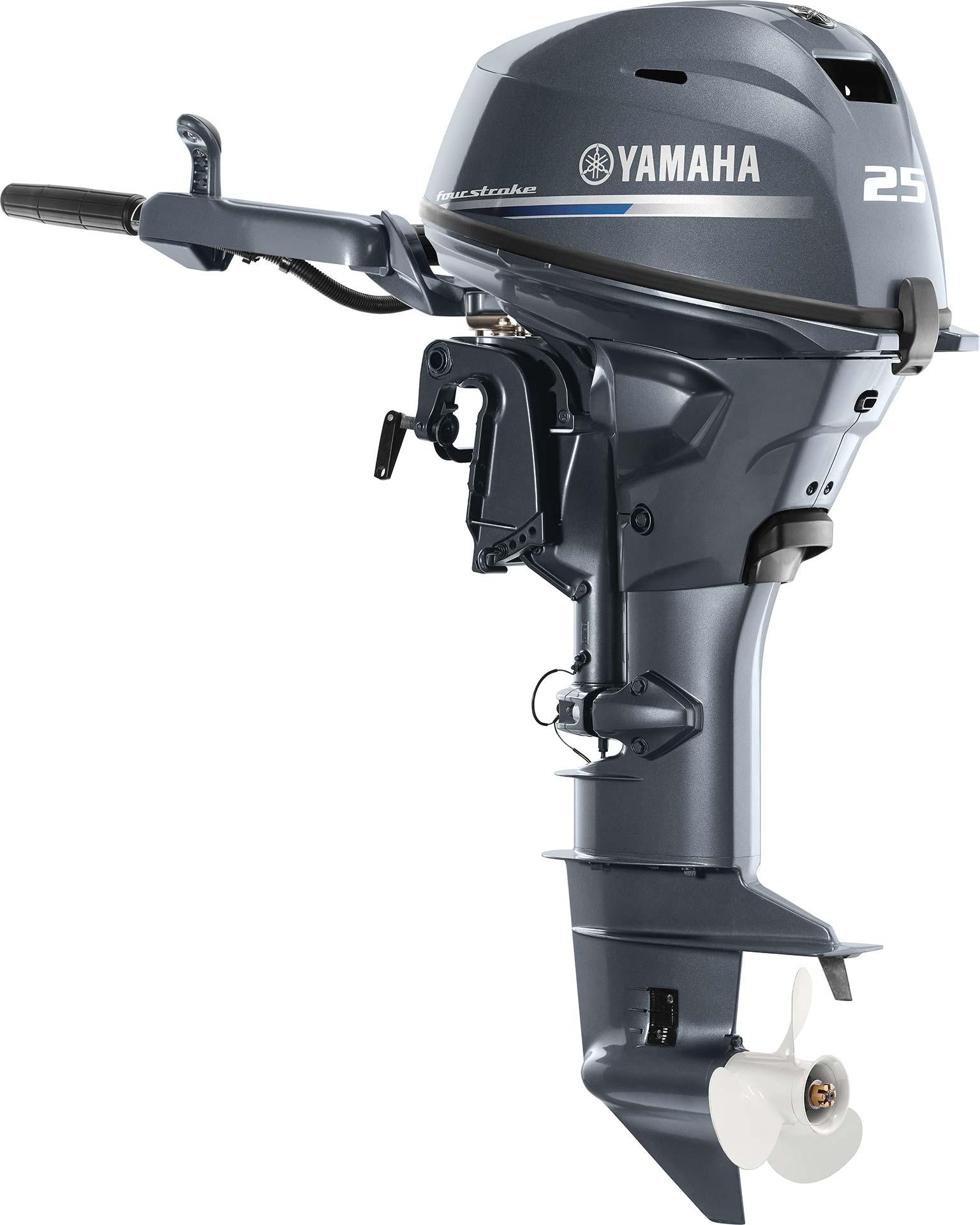 Yamaha F25SWHC Tiller / Electric & Manual